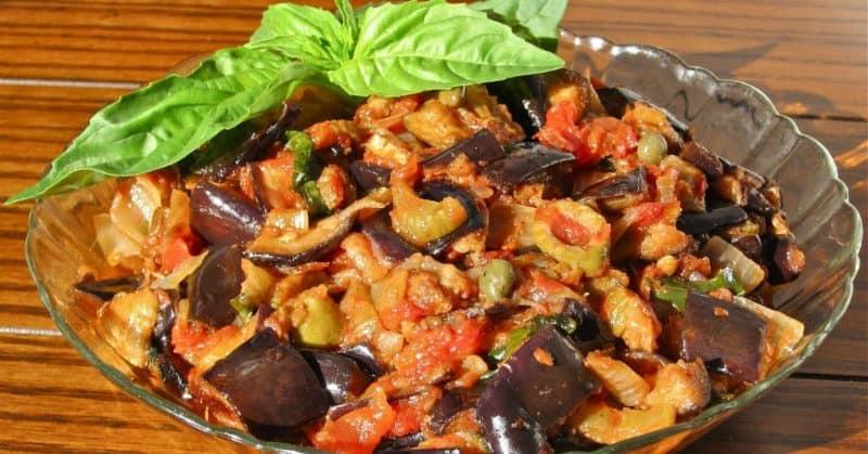 Баклажаны по-кавказски. Овощи получаются невероятно вкусными