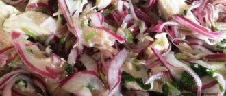 Деревенский свадебный салат. У этого блюда нет конкурентов по простоте приготовления 2