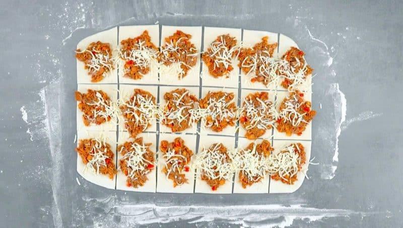 Домашний хлеб с мясной начинкой. Отличное угощение, которое будет радовать Вас каждый день