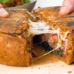 Жаркое в хлебе. Мясо, запечённое в духовке с ароматным хлебом 13