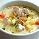 Картофельно-сырный суп с курочкой. Сытный и ароматный обед без особых усилий 23