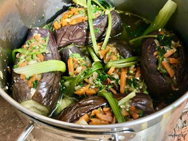 Квашеные баклажаны. Самый удачный рецепт из баклажанов 6