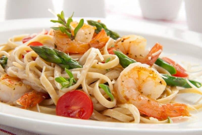 Паста с морепродуктами и сливочным соусом. Нежное и очень вкусное блюдо 6