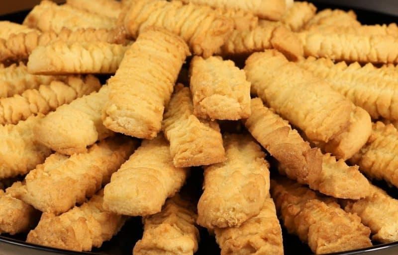 Песочное печенье из мясорубки