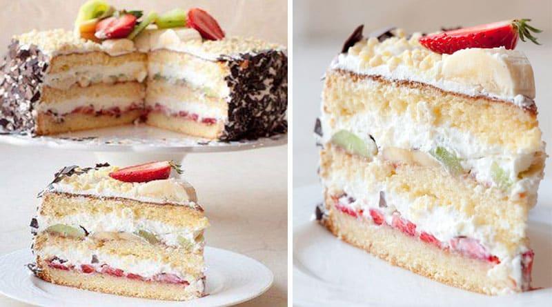 Пирог на кефире Сама нежность. Сливочно-ванильно-кокосовый десерт понравится всем 8