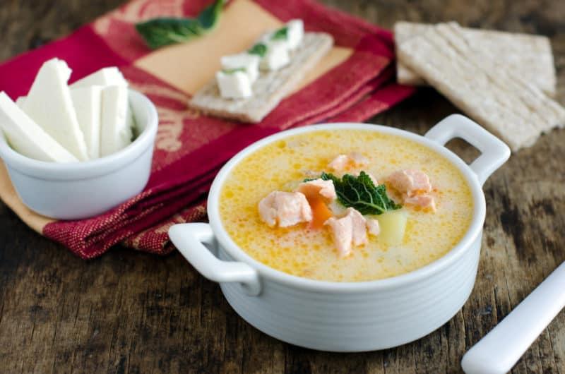 Рыбный суп с плавленым сыром. Восхитительное первое блюдо для любителей рыбки 1