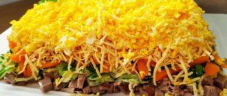 Салат Идеал. Мясной салат, который достойно заменит пресловутый Оливье 6