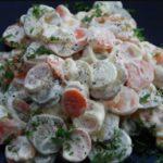 Салат Копейка. Несмотря на недорогие ингредиенты, салатик понравится всем без исключения 9