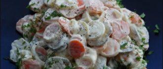 Салат Копейка. Несмотря на недорогие ингредиенты, салатик понравится всем без исключения 3