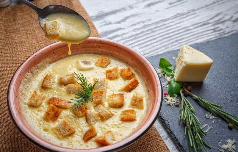 Сырный суп с картофелем. Сытное первое блюдо, которое понравится всем 6