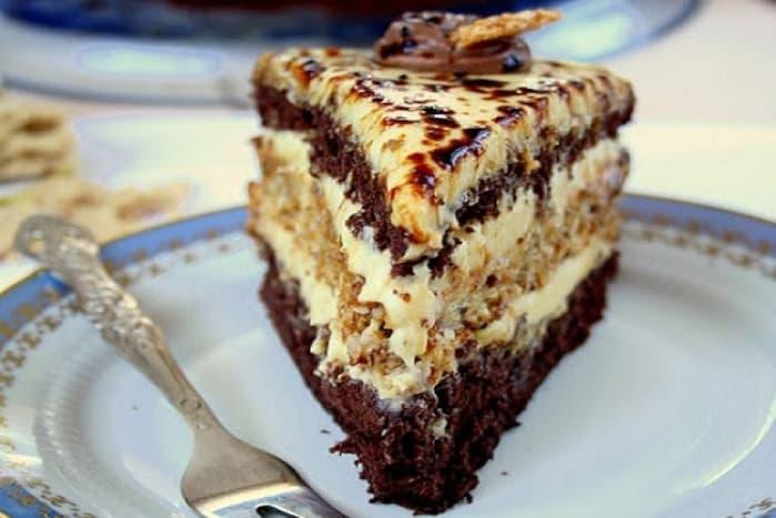 Торт Халва. Необычайно вкусный тортик 1