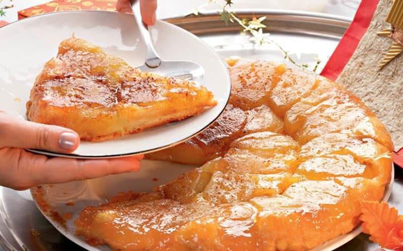 Яблочный пирог Татен. Нежное лакомство родом из Франции 10