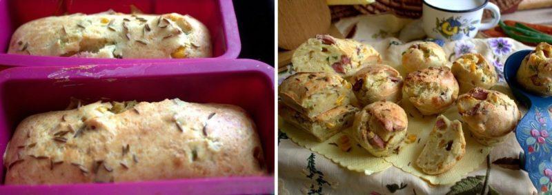 Закусочный кексы Довольный муж. Отличная закуска, для дома и пикника 17