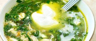 Зелёный борщ. Рецепт достался от бабушки и готовлю его через день 6