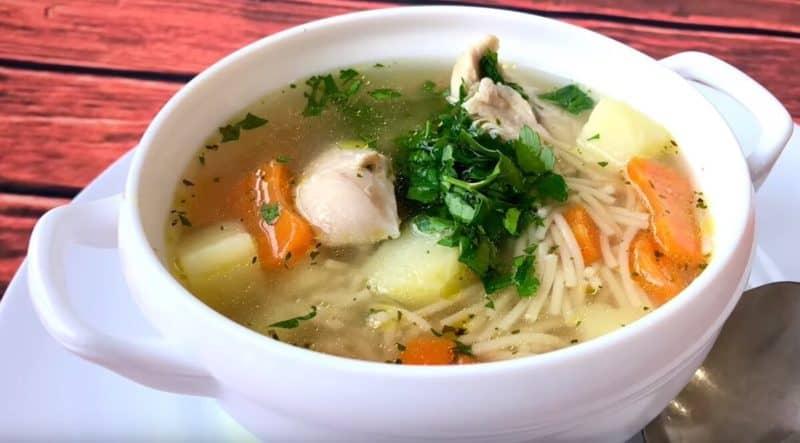 Куриный суп Рыжик. Первое блюдо из моего детства, которое я с возрастом всё также люблю 1