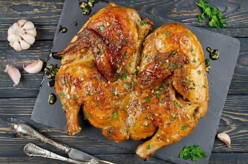 Курица по-аджарски. Вкуснейшее блюдо, которое еще и красиво смотрится 6
