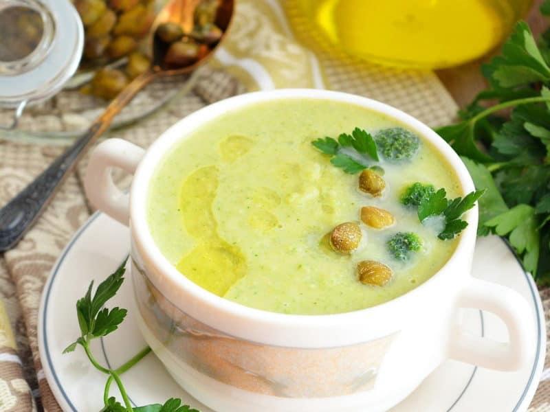 Ленивый суп с горошком