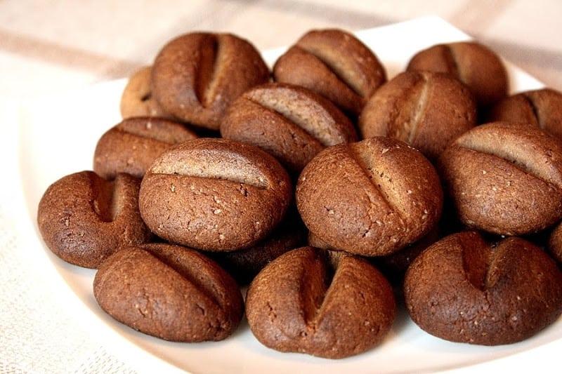 Печенье Кофейные зёрна. Шикарное лакомство для семейного чаепития 1