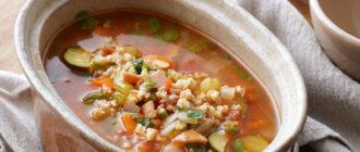 Суп из перловой крупы по-польски. Ароматное первое блюдо для всей семьи 4