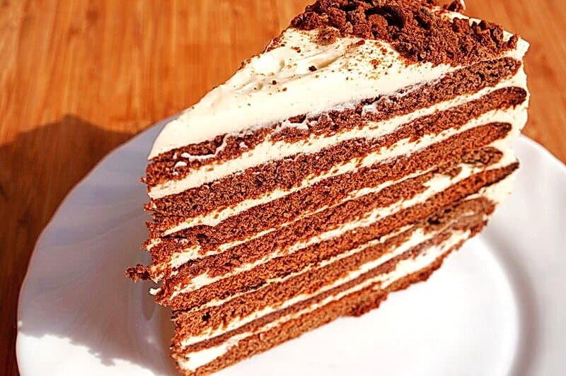 Торт Спартак. Изумительный десерт с пикантным вкусом 1