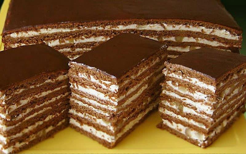 Торт Спартак. Изумительный десерт с пикантным вкусом