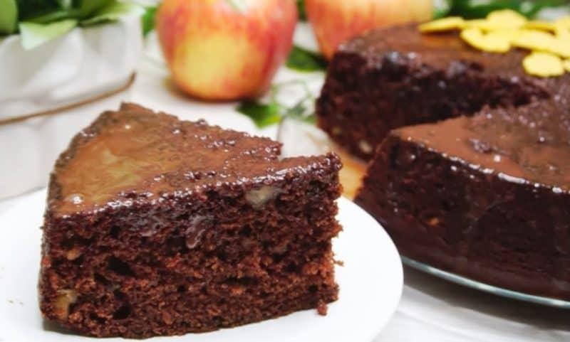 Шоколадный десерт Бедный студент. Всё взяли, смешали и в духовку 1