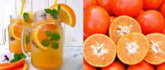 Апельсиново-мятный компот. Отличный напиток на зиму 21