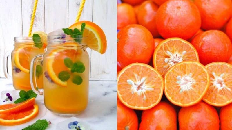 Апельсиново-мятный компот. Отличный напиток на зиму 1