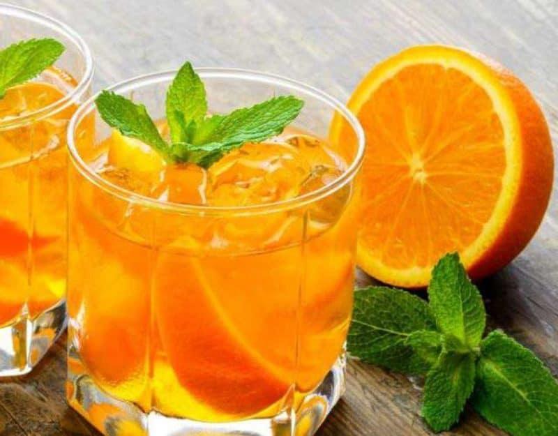 Апельсиново-мятный компот. Отличный напиток на зиму