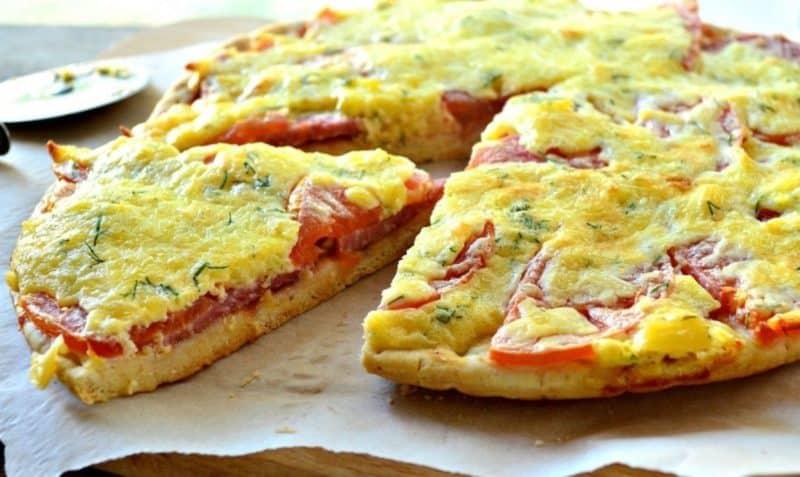 Кабачковая пицца на скорую руку. Лёгкий рецепт сытного летнего ужина 6