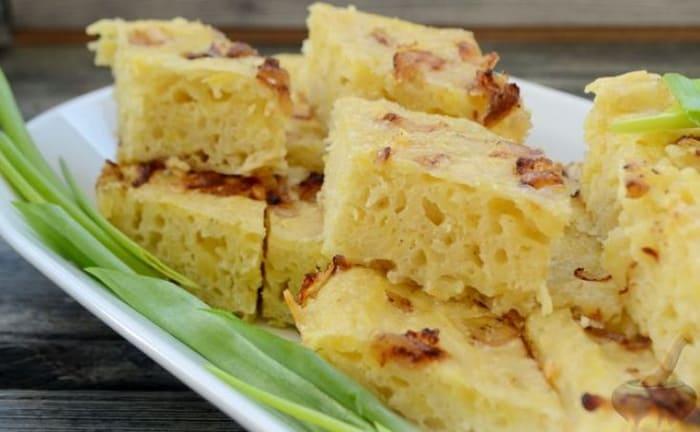 Картофельный пирог Бобеле