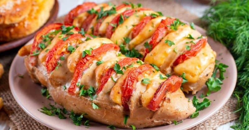 Куриное филе с сыром в духовке. Отличный вариант для обеда или ужина 1