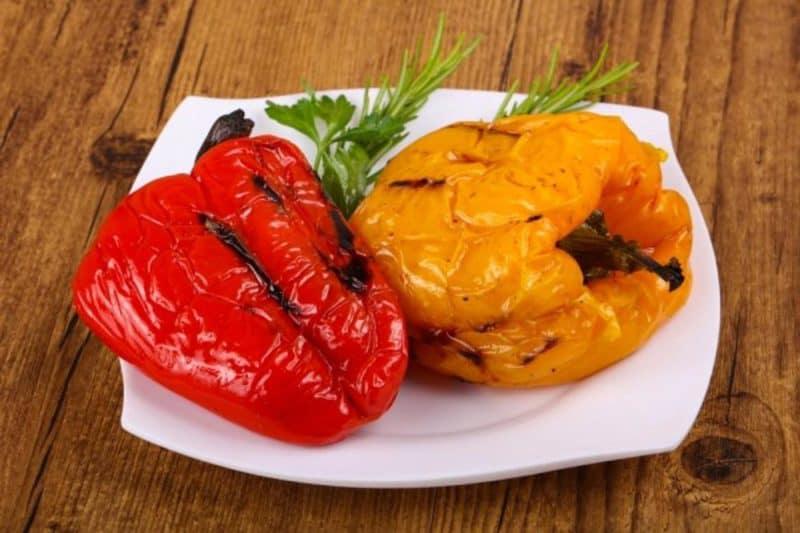 Печёный перец в духовке на зиму. Очень вкусная заготовка 1