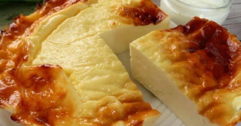Пирог из йогурта без муки и сахара. Йогуртовый десерт особенно подойдёт в жаркое время года