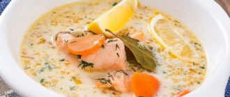 Суп из форели по-фински. Наваристое первое блюдо для любителей рыбки 5
