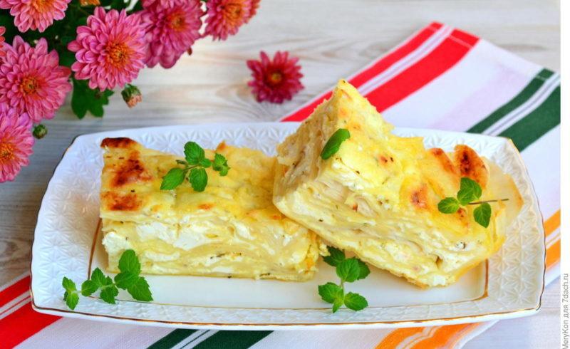 Болгарская баница с творогом и сыром. Вся семья будет очень довольна 1