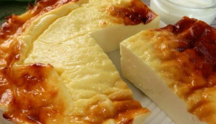 Пирог из йогурта без муки и сахара. Йогуртовый десерт особенно подойдёт в жаркое время года 1