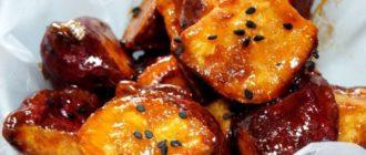 Глазированный картофель. Азиатский десерт для избранных 9
