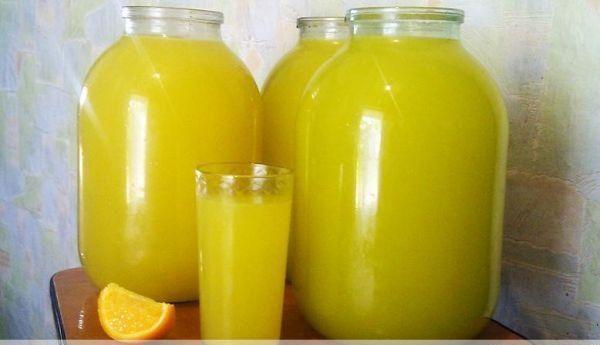 Апельсиновый лимонад. Вкусный и полезный напиток 1