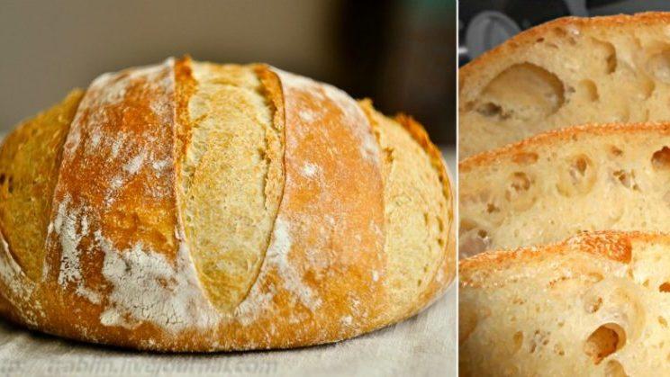 Домашний хлеб без замеса. Порадуйте родных пышным и душистым домашним хлебом 1