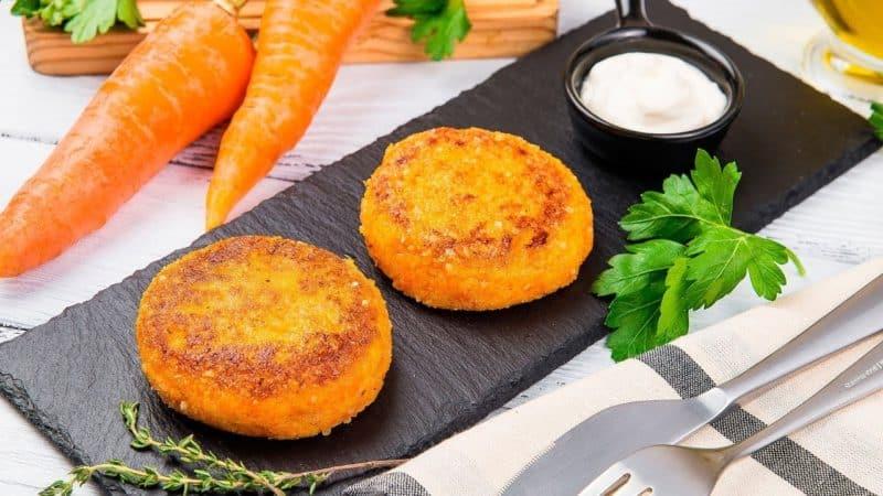 Биточки из моркови. Вкусное, полезное и лёгкое блюдо к любому гарниру 1
