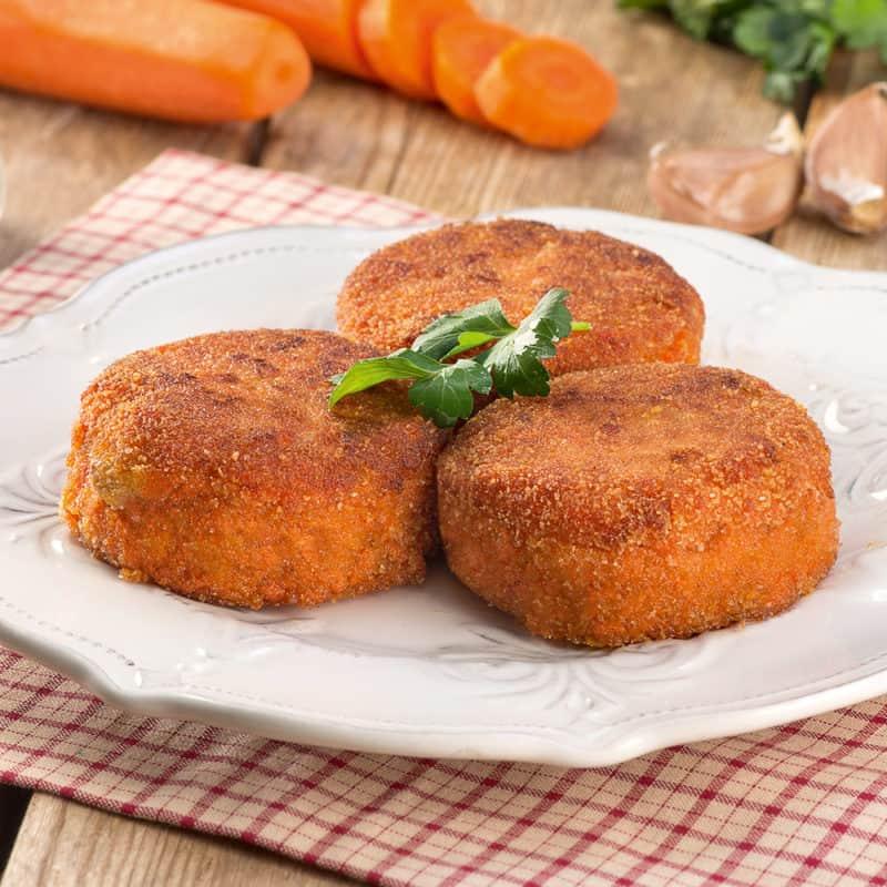 Биточки из моркови. Вкусное, полезное и лёгкое блюдо к любому гарниру