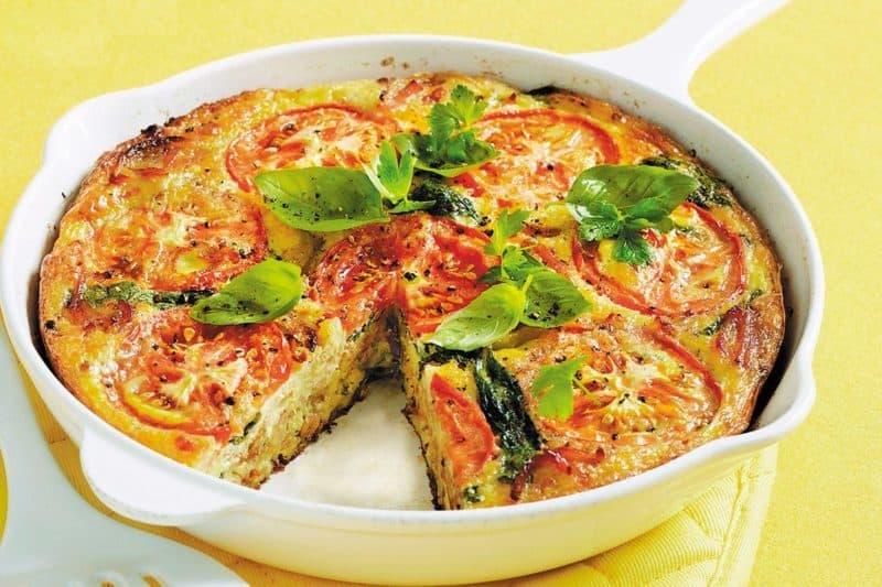 Итальянский омлет с овощами. Сытный и вкусный завтрак для всей семьи