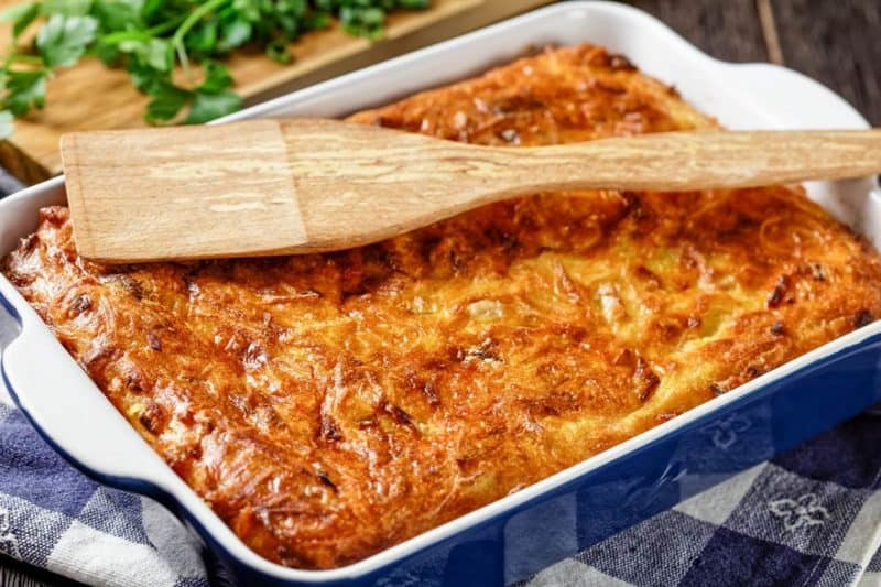 Картофельный кугель. Секрет этого блюда я узнала у еврейской тётушки 16