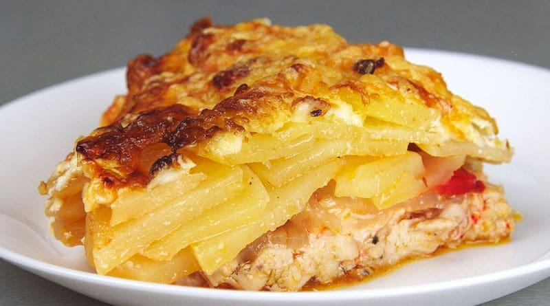 Картошечка по-королевски. Сытное блюдо за 10 минут 1