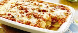 Лазанья из картофеля. Вкусная идея сытного обеда на большую семью 7