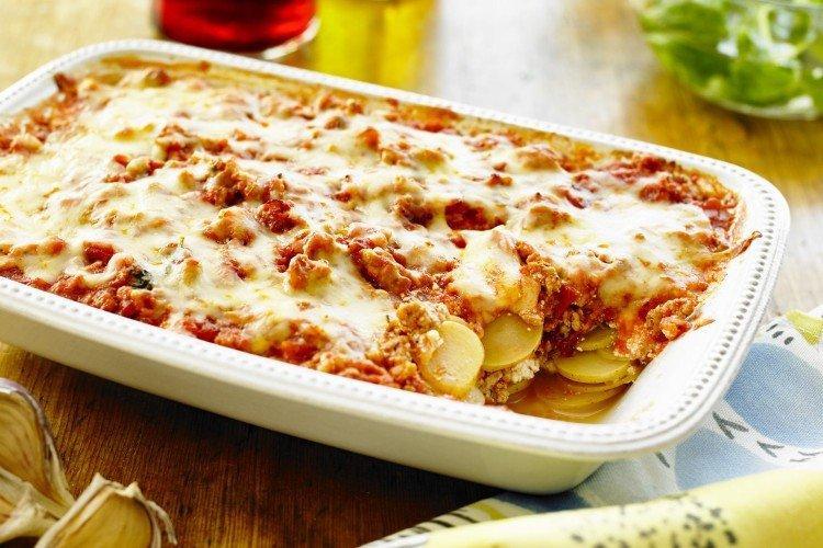 Лазанья из картофеля. Вкусная идея сытного обеда на большую семью 1