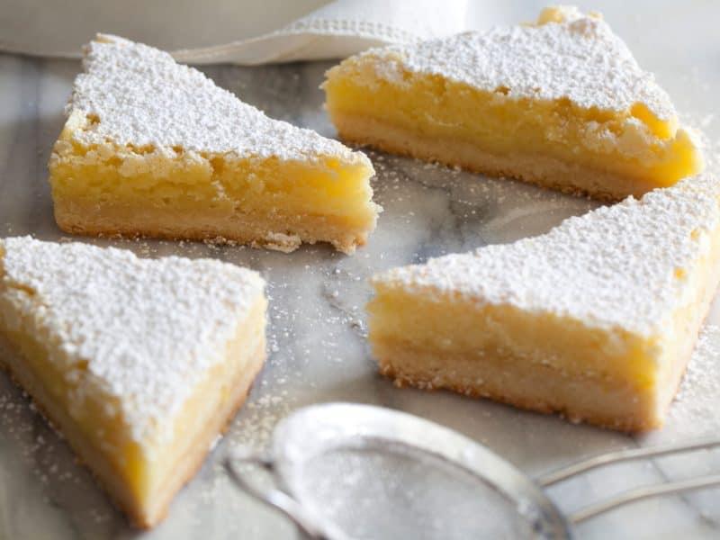 Лимонный десерт
