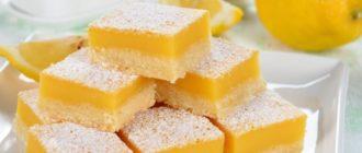 Лимонный десерт. Ароматное лакомство на каждый день 6