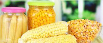 Маринованная кукуруза в початках на зиму. Обалденная закуска 3